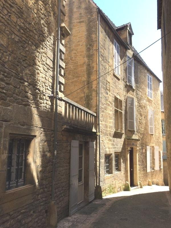 Rue piétonne de Sarlat