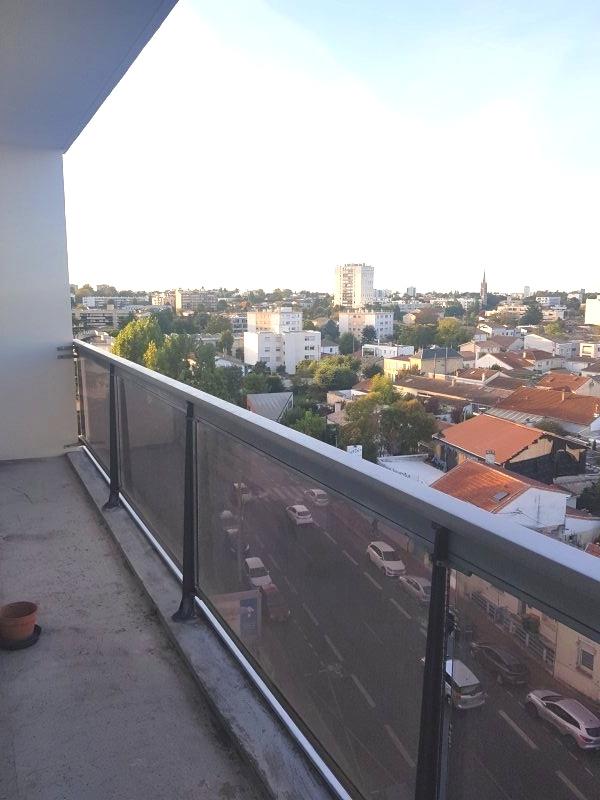 Appartement caudéran, proche bordeaux, dernier étage, lumineux